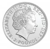 Britannia 1 oz Silber 2013 - Wertseite
