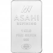 Silber Münznbarren 1 kg Eule