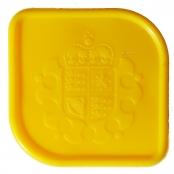 Münztube Gold Sovereign - Logo der Royal Mint UK