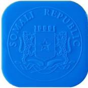 Münztube Silber Somalia Elefant - Logo