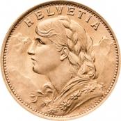 Vreneli Goldmünze 20 Franken