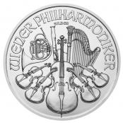 Philharmoniker 1 oz Silber kaufen, auf der Wertseite des Silber Philharmonikers ist eine Orgel abgebildet