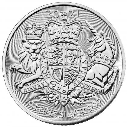 Royal Arms 1 oz Silver 2021