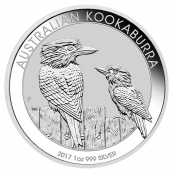 Kookaburra 1 oz Silber 2016 - Auflage 500.000 / ausverkauft
