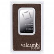 Platinbarren 1 oz Valcambi - Blister