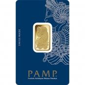 Goldbarren 10 Gramm Fortuna - Blsiterkarte