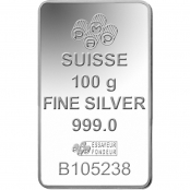 Silberbarren 100 g Fortuna PAMP Suisse - LBMA zertifiziert