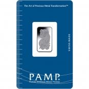 Platinum Bar 10 Gram PAMP Suisse - Blister