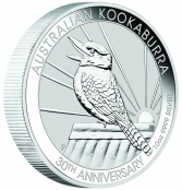 Kookaburra 10 oz Silber 2020 - 3D