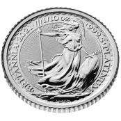Britannia 1/10 oz Platin 2021 - 3d Ansicht