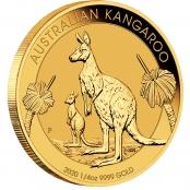 Kangaroo 1/4 oz Gold 2020 - Motivseite