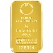 Goldbarren kinebar™ 1 Gramm - LBMA zertifiziert