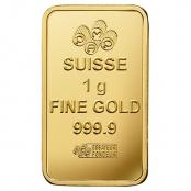Multigram+25 Gold PAMP Suisse - Goldbarren LBMA zerifiziert