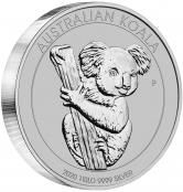 Koala 1 kg Silber 2020 - 1 Kilogramm Silber 999
