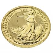 Britannia 1 oz Gold 2020 - 3 D