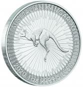 Kangaroo 1 oz Silber 2020 - 3 D