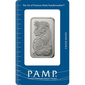 Platinbarren 1 oz PAMP Suisse - Blister