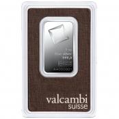 Silberbarren 1 oz Valcambi - Blister