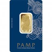 Goldbarren 20 Gramm Fortuna - Blsiterkarte