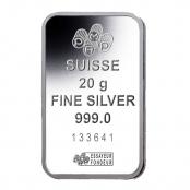 Silberbarren 20 Gramm Fortuna - LBMA zertifiziert