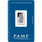 Platinbarren 2,5 Gramm PAMP Suisse - Blister Vorderseite