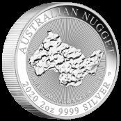 """2 oz. Australian Nugget """"Welcome Stranger"""" 2019  - Auflage 30.000 Stück"""