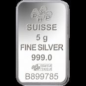 Silberbarren 5 g Fortuna PAMP Suisse - Foruna Lady