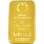 Goldbarren kinebar™ 5 Gramm - LBMA zertifiziert durch Argor-Heraeus