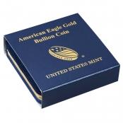 American Eagle Etui Gold 1 oz - Original Silver Eagle Etui der United States Mint