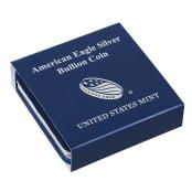 American Eagle Etui Silber 1 oz - Original Silver Eagle Etui der United States Mint