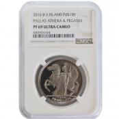 Athena & Pegasus 1 oz Palladium 2016 - NGC Slab