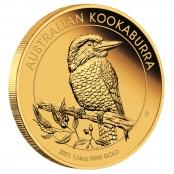 Kookaburra 1/4 oz Gold 2021 - 3 D