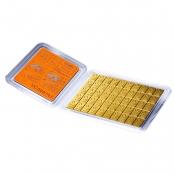 50 x 1 g Gold CombiBar Valcambi - Blister