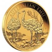 Emu 1 oz Gold 2019 - 3d Anischt