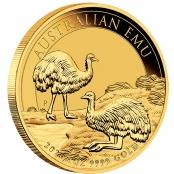 Emu 1 oz Gold 2020 - 3d Anischt