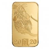 Goldbarren Argor-Heraeus 10 Gramm Maus - Motivseite