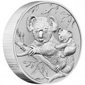 Koala 2 oz Silver 2018 - 3d Anischt