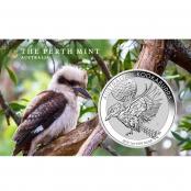 Kookaburra 1 oz Silber 2018 - Auflage 500.000