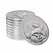 Lunar Maus UK 1 oz Silber 2020 - 10 er