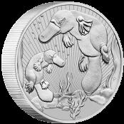 Platypus 2 oz Silber 2021 - 3d