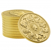 Queen's Beasts Completer Coin 1 oz Gold - 10er Tube