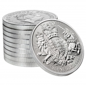 Royal Arms 1 oz Silber 2020 - 10 er
