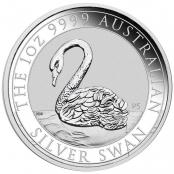 Schwan 1 oz Silber 2021 - Auflage 25.000 Stück