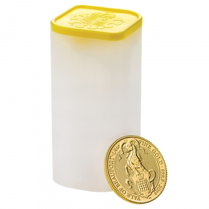Queen's Beast Yale 1/4 oz Gold 2019