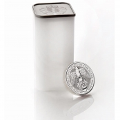 Queen's Beasts Falcon 2 oz Silber 2019 -  10 er Tube Queen Beast
