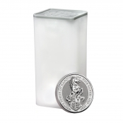 Queen's Beasts White Horse 2 oz Silber 2020 -  10 er Tube Queen Beast