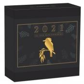 Kookaburra 1/4 oz Gold 2021 Proof - Box