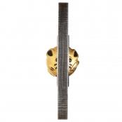 Lunar Maus Rotating Charm 1 oz Silber 2020 - 18 Karat Gold