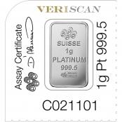 Multigram+25 Platin PAMP Suisse - Fortuna Design