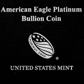 American Eagle 1 oz Platin 2021 - Etui